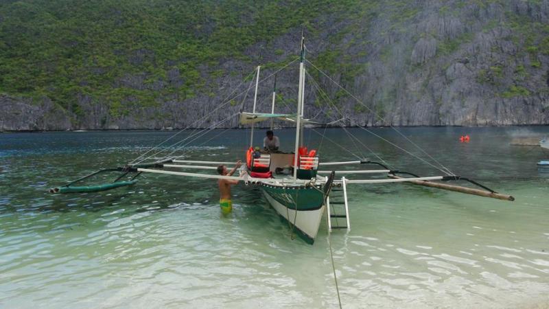 Bangka båden som vi var på ø-hop med.