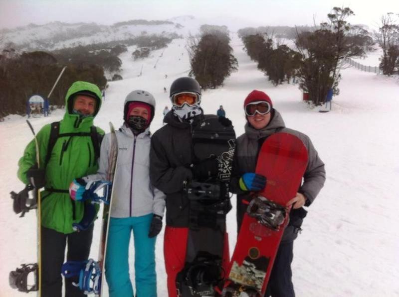 Tim, Paddy og os.