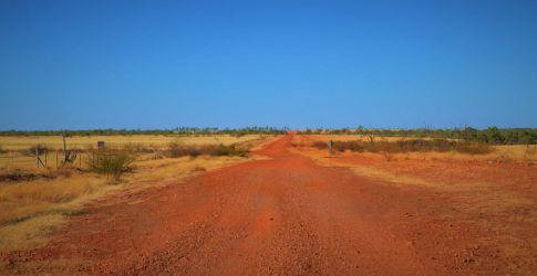 Australien, outback, rødt sand, red dirt
