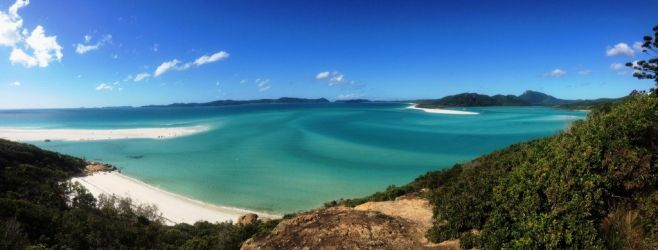 Australien, whitsunday, strand, beach