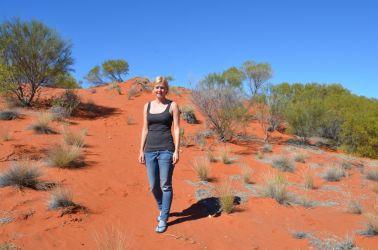 Australien, outback, rødt sand, red dirt,