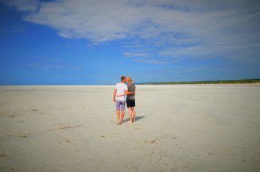 Kærlighed og strandvand kan man leve længe på