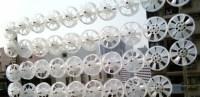 November 2006 installation of 40 micro-wind turbines on Homantin street, Hong Kong.  Micro-Wind Turbines, Motorwind, Motorwave, Hong Kong, Wind Power, Clean Energy, Lucien Gambarota