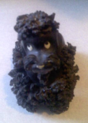 Giving A Ceramic Poodle A Bath (Or How To Clean Vintage Spaghetti Figurines)