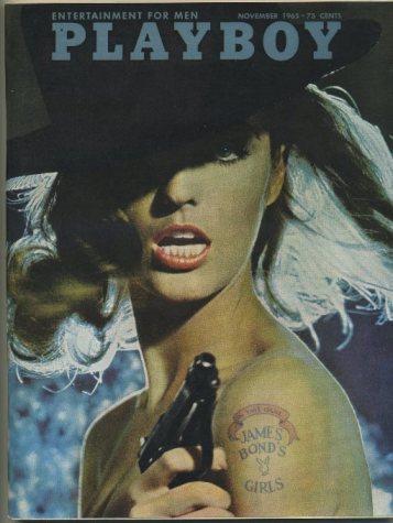 Playboy Magazine November 1965 James Bonds Girls Cover