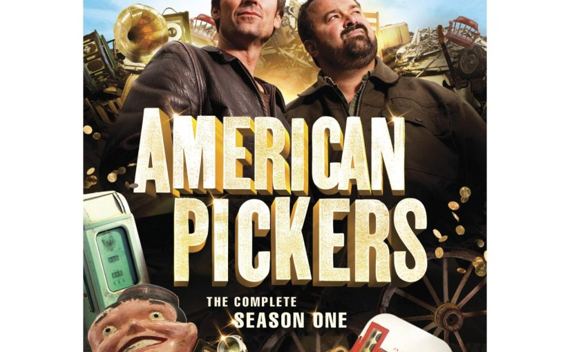 american pickers season one dvd