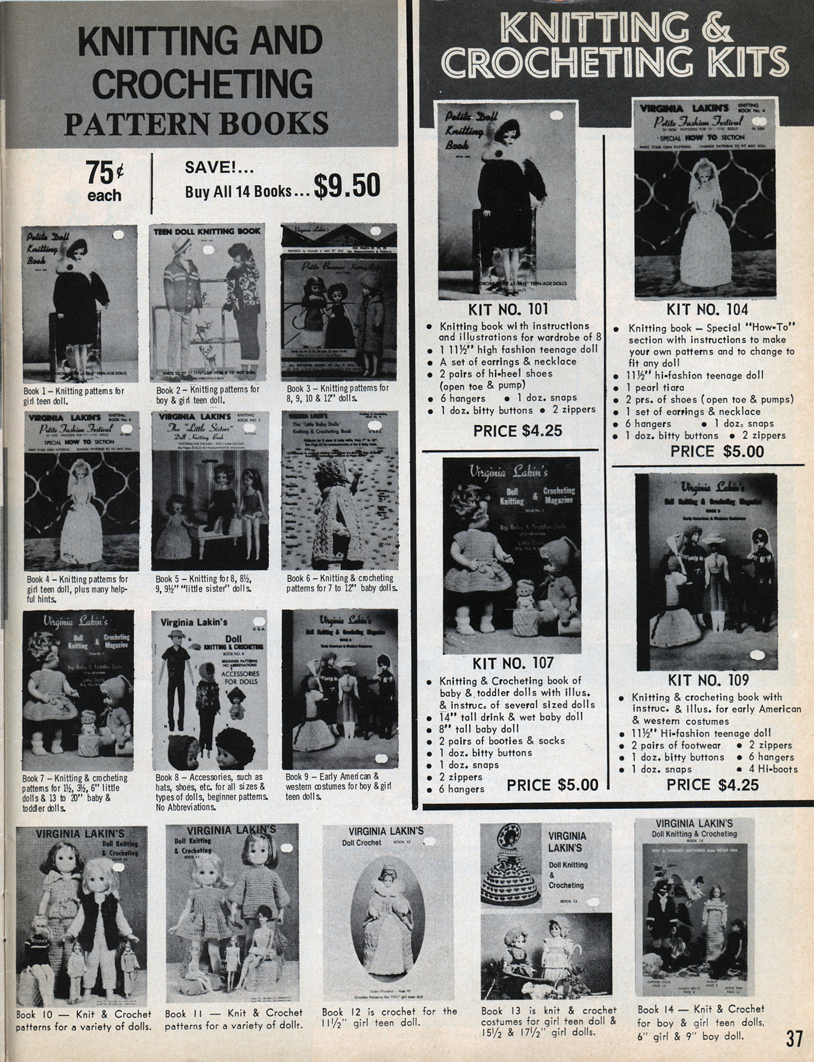 Vintage Standard Doll Co. Catalog Pages – Inherited Values