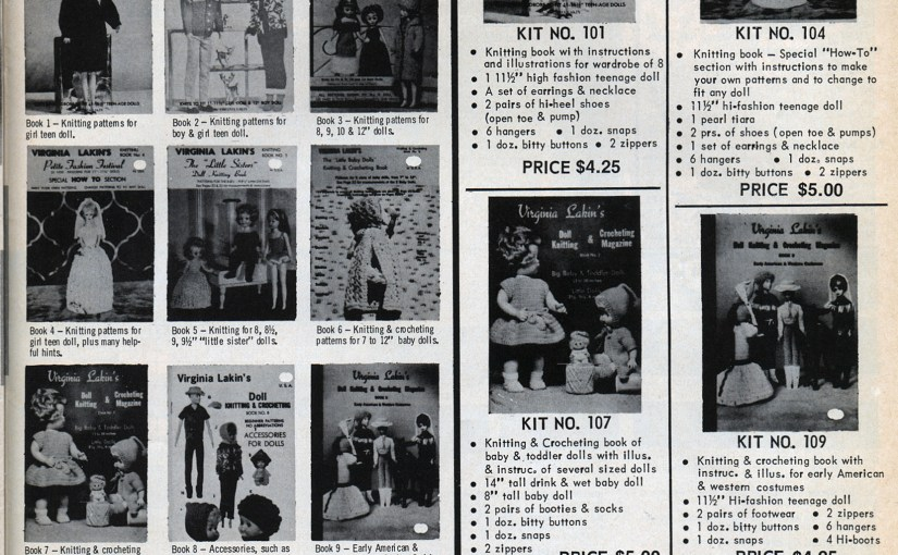 Vintage Standard Doll Co. Catalog Pages