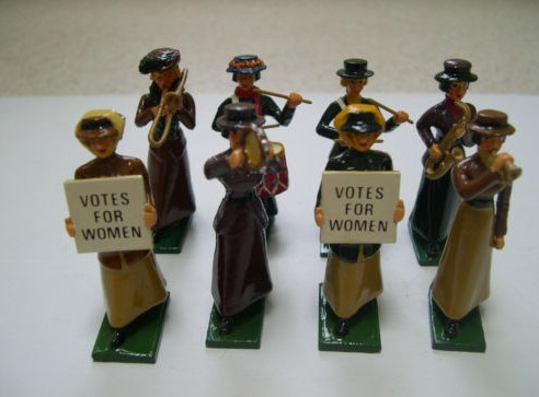 From Suffragettes To Grave Robbers: The Grand Magnificence Of Charles Halls Miniature Metal Figures