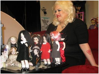 Marilyn With Doll Collection On TLC's My Collection Obsession