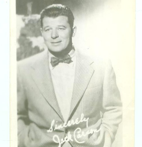 Cross-Collectibles With Jack Carson — Contest Giveaway!