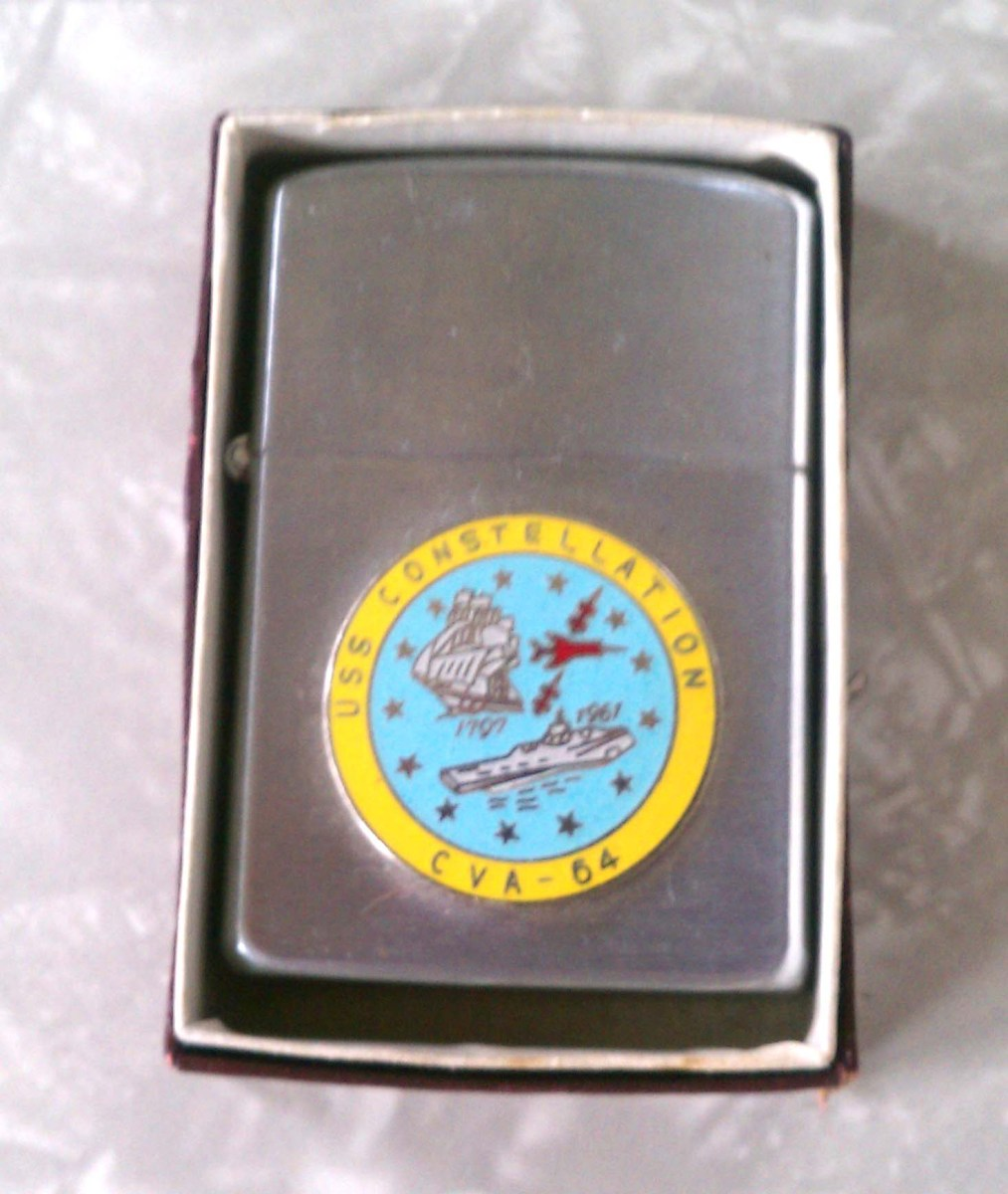 Vintage USS Constellation Lighter
