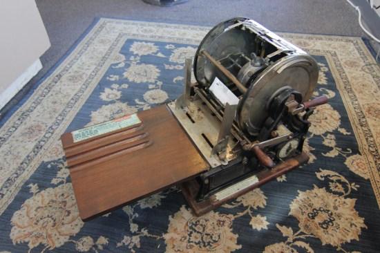 mimeograph machine fargo