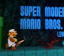 Artista 3D cria um Super Mario mais sangrento