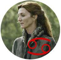 Câncer: Catelyn Tully Stark-horoscopo-Mudo Nerd Info