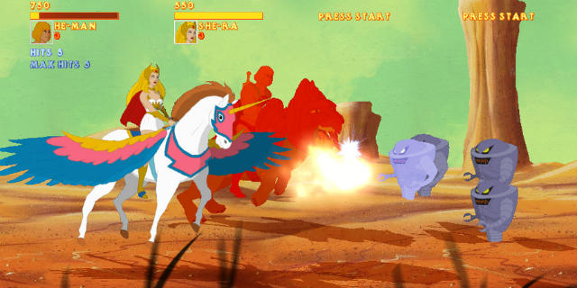 He-Man game and She-Ra - Mundo Nerd