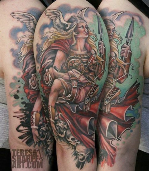 teresa sharpe tattoo