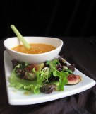Ginger Soup and Autumn Greens