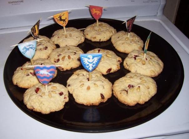 Angela's Heraldic Wintercakes