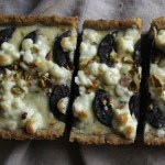Modern Blood Sausage Tart