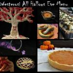 Westerosi All Hallows Menu
