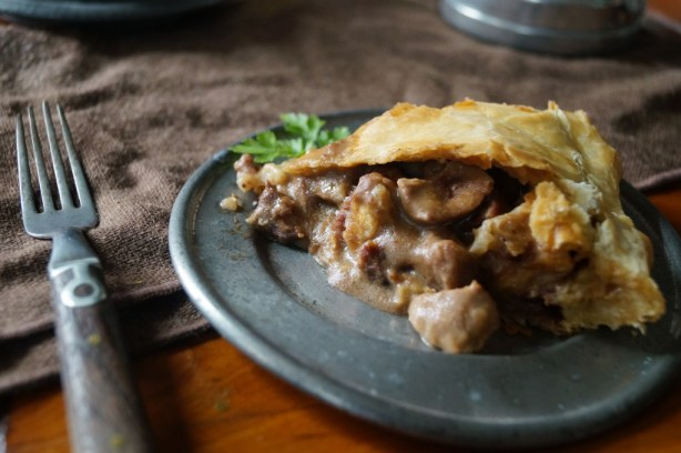 Steak and Kidney Pie, from the Winds of Winter