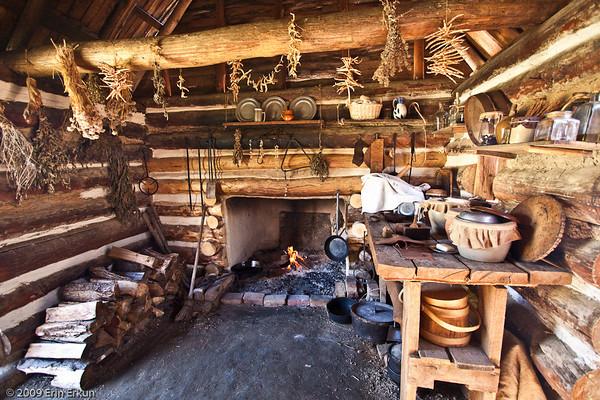 Colonial Farm Kitchen