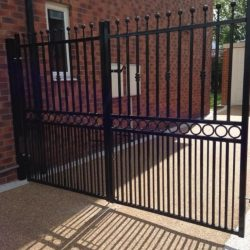 House Electric Gates