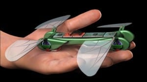 TechJect's Dragonfly micro UAV flies like a bird and hovers like an insect