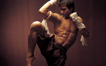 thai box - Thai fighter
