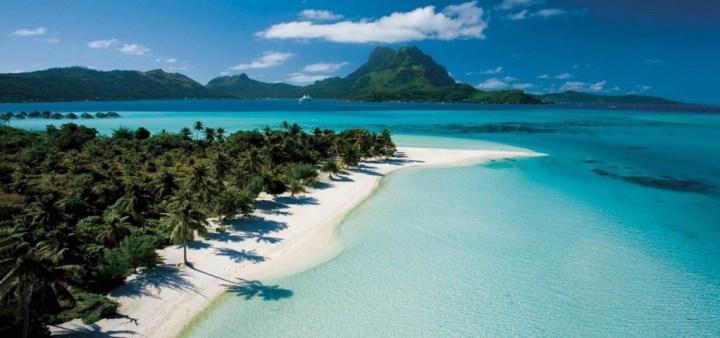 Una delle spiagge dell'Indonesia