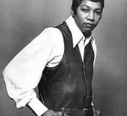 """Luther Ingram, singer of """"(If Loving You Is Wrong) I Don't Want To Be Right,"""" dressed as black Han Solo."""