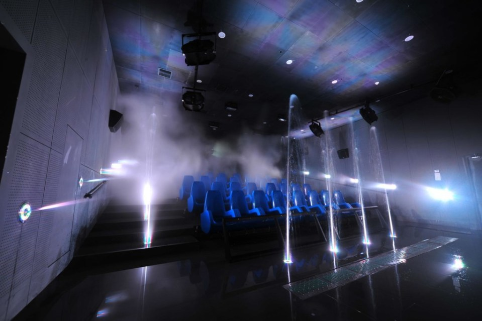 Cinesplash5D, Ningbo Hanzhouwan Dream Hotspring Water World