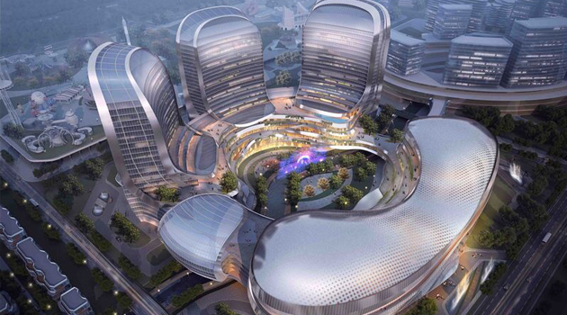 Lai Fung music performance center. Courtesy Zhuhai Hengqin New Area Administrative Committee