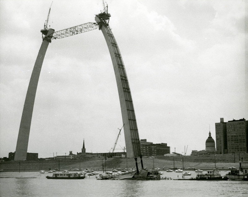 Inpark Magazine Gateway Arch Journey To The Top