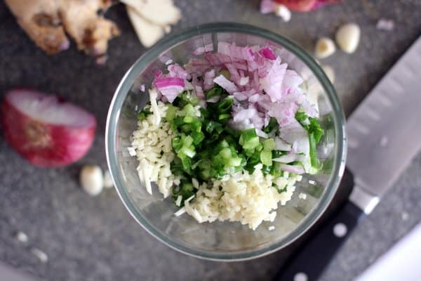 Ginger Scallion Noodles_Ingredients