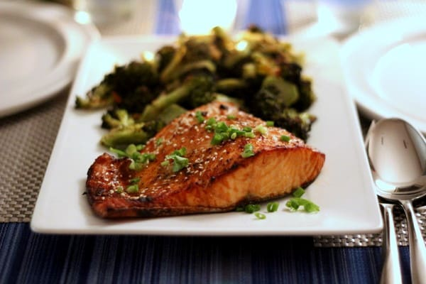 Toasted Sesame Ginger Salmon