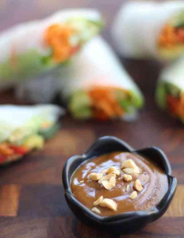 Vietnamese Summer Rolls Dipping Sauce