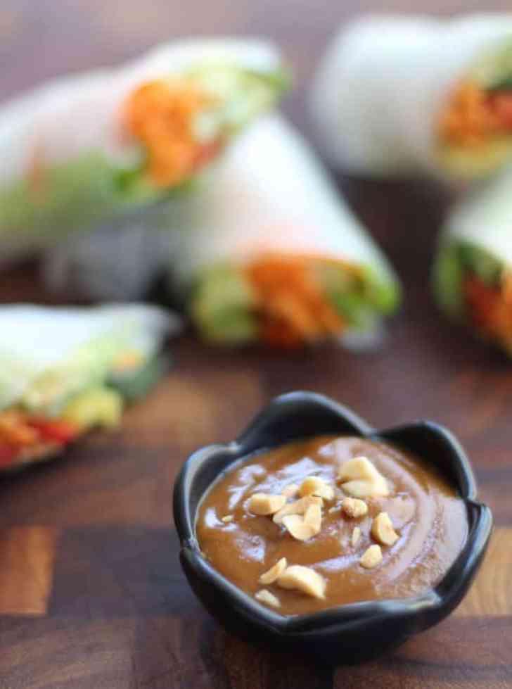 Vietnamese Spring Roll Dipping Sauce Vietnamese Summer Roll...