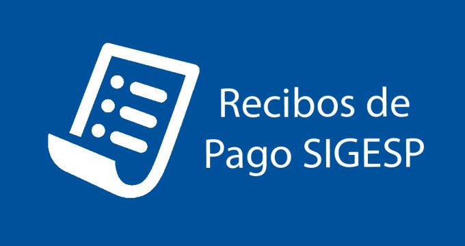Recibos de Pago SIGESP