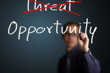 Turn threats into opportunity. Image found @ Kari Joys