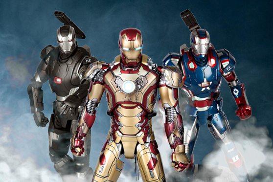 華麗登場: Iron Man 前來敬見