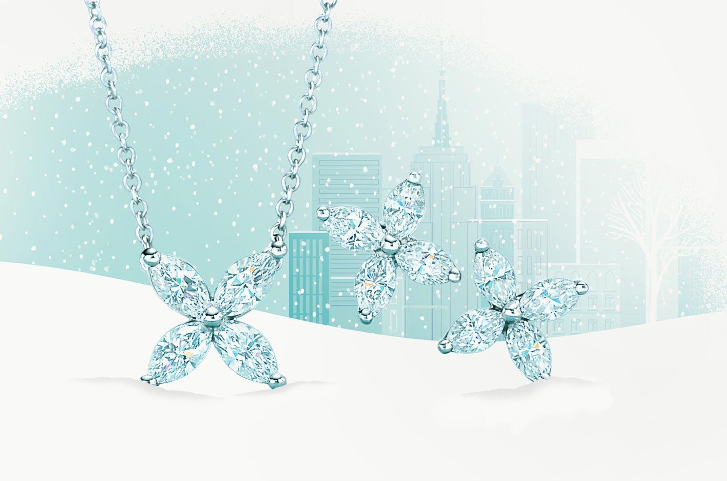 晶盈假日,Tiffany 讓妳與冰雪相伴