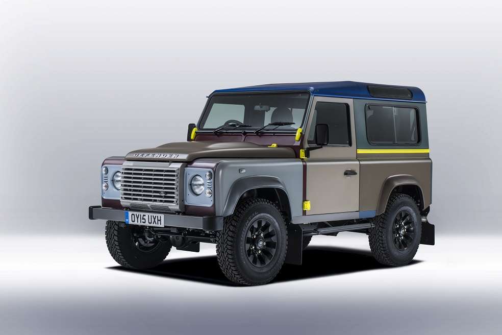 英倫華服上身,Paul Smith x Land Rover Defender