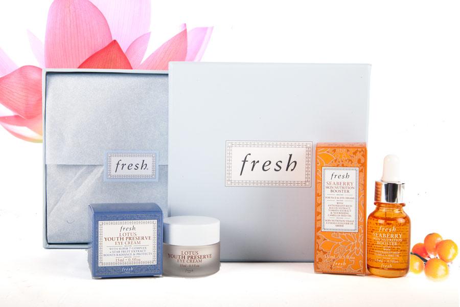Fresh家最新單品:明眸美肌的祕密!