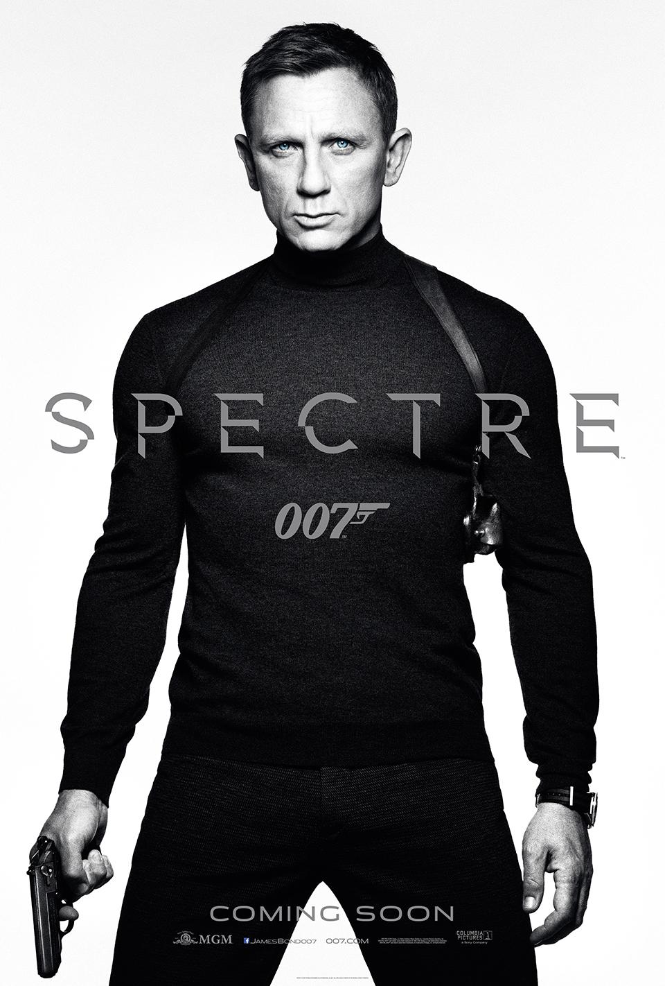 特工歸來:007 幽靈黨即將上映