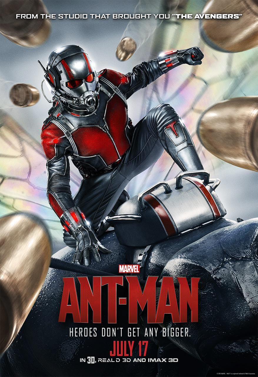 新英雄祭出:Ant-Man 即將上映