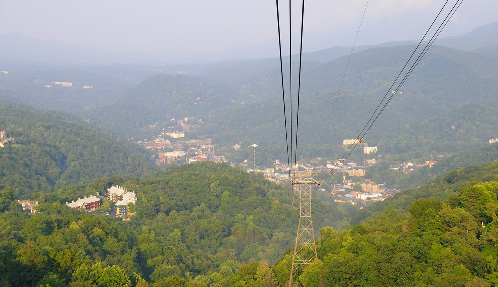 Aerial Tramway from Ober Gatlinburg