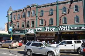 Ripley's Believe It Or Not Odditorium on the Gatlinburg Strip.
