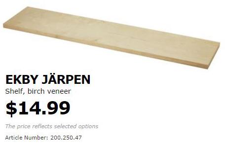IKEA Hack - Floating Shelves   Inside the Fox Den
